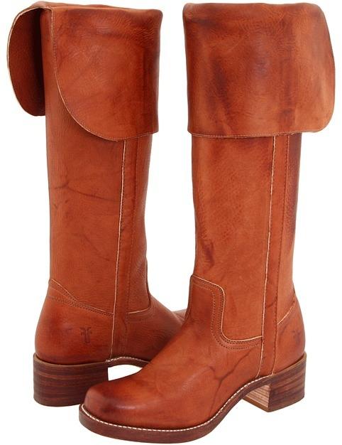 Frye Campus OTK (Saddle) - Footwear