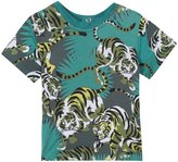 Kenzo Jungle Prints Tee Shirt (Baby) - Green - 18 Months