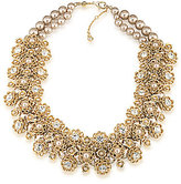 Carolee Union Square Faux-Pearl Frontal Necklace