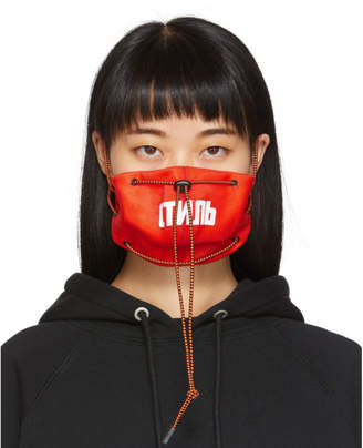 Heron Preston Red Style Pollution Mask