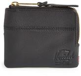 Herschel Johnny Half Zip Leather Wallet
