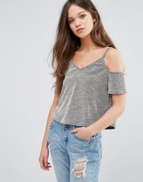 Daisy Street Cold Shoulder Top