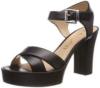 Unisa Women's Viken_na Platform Sandals, Black
