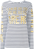 Each X Other stripe gold lettered top