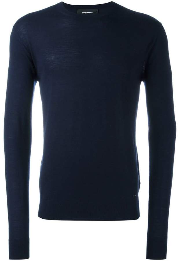 DSQUARED2 basic crew neck jumper