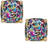 Kate Spade Gold-Tone Small Square Stud Earrings