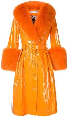 Saks Potts gloss finished coat