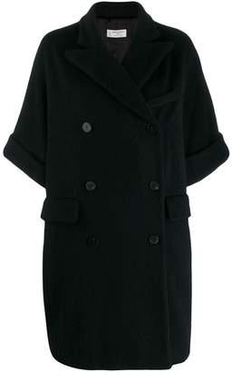 Alberto Biani oversized double-breasted coat