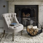 Graham and Green Trianon Chair In Natural Linen