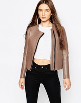 Muu Baa Muubaa Reversible Palmira Bonded Leather Jacket