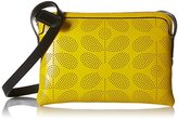 Orla Kiely Sixties Stem Punched Leather Poppy Bag