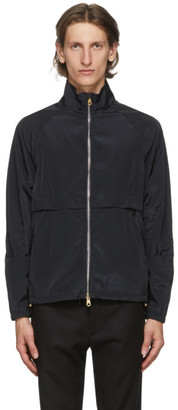 Paul Smith Navy Poplin Windbreaker Jacket