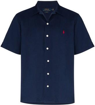 Polo Ralph Lauren Embroidered-Logo Short-Sleeve Shirt