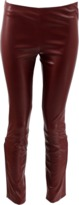 The Row Side Zip Leather Legging