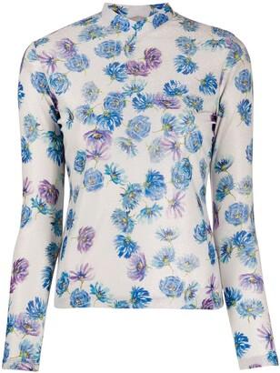 Coperni floral print T-shirt