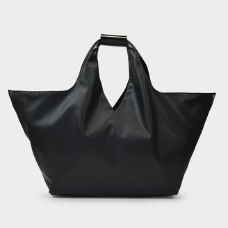 MM6 MAISON MARGIELA Handbag Japanese In Black Eco Leather