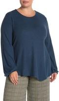Bobeau Jillian Knit Top (Plus Size)