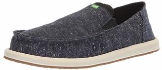 Sanuk Men's Pick Pocket Tweed Loafer Flat