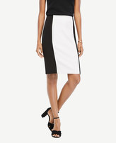 Ann Taylor Colorblock Pencil Skirt