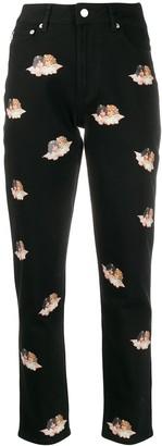 Fiorucci Tara Angels high-rise jeans