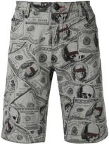 Philipp Plein Bermuda Dollar shorts