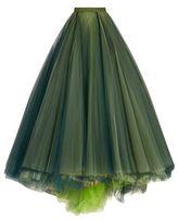 Monique Lhuillier Tulle Ball Gown Skirt