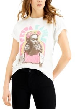 Junk Food Clothing Frida Kahlo Cotton Graphic T-Shirt