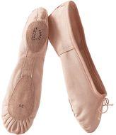 PORSELLI Split-Sole Cotton Canvas Ballet Flats