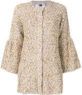 Blumarine decorated flared sleeve cardigan