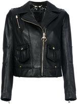 Philipp Plein Beak Street biker jacket