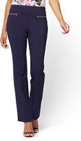 New York & Co. 7th Avenue Pant - Pull-On Straight Leg - Modern - Petite