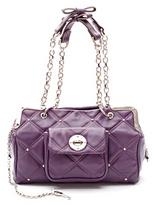 Luella Fury Boxy Bag (Purple)
