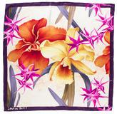 Lanvin Silk Floral Scarf