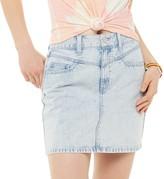 So Juniors' SO Yoke Front Denim Skirt