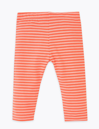 Marks and Spencer Cotton Leggings (0-3 Yrs)