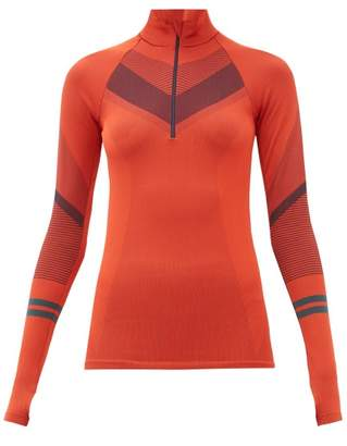 LNDR Beyond Half-zip Thermal Base Layer - Womens - Red
