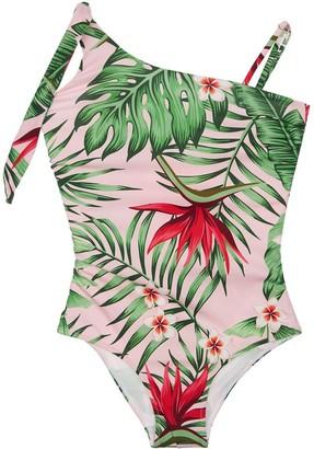 MC2 Saint Barth Floral Print One Piece Swimsuit