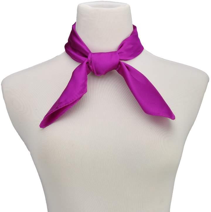 HERRICO Fashion Women Cold Weather Small Square Silk Feel Scarves 6060 Multi-Colors