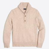 J.Crew Factory Lambswool shawl-collar sweater
