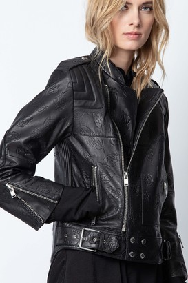 Zadig & Voltaire Liliam Leather Jacket