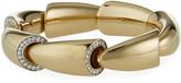 18k White Gold Diamond-Edge Bracelet