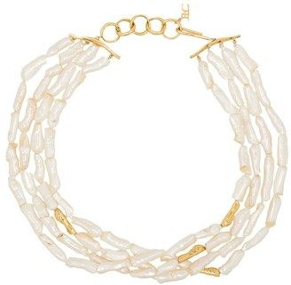 Joanna Laura Constantine layered freshwater pearl necklace
