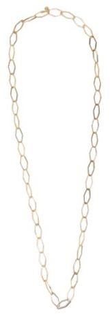 Lucky Brand Gold Metal Link Necklace