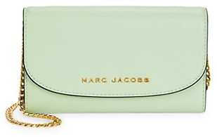 Marc Jacobs Logo Leather Wallet