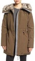 Vince Camuto Women's Parka With Faux Fur Lined Hood
