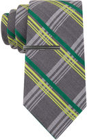 Jf J.Ferrar JF Neon Pop Plaid Tie - Extra Long