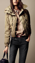 Burberry Quilted Collar Oversize Jacket