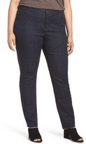 Eileen Fisher Plus Size Women's Organic Cotton Stretch Skinny Jeans