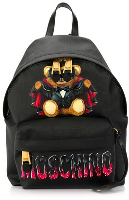 Moschino Bat Teddy Bear backpack