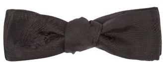 Comme Les Loups - Venturi Floral Silk-jacquard Bow Tie - Mens - Black